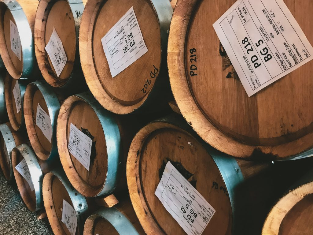 Distillery Barrels photographed by YesMore Content